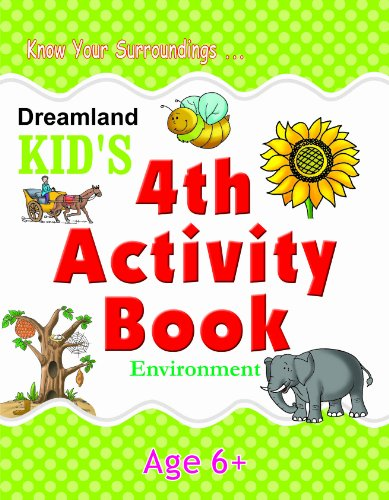 4th Activity Book - Environment (Kid's Activity Books) Image