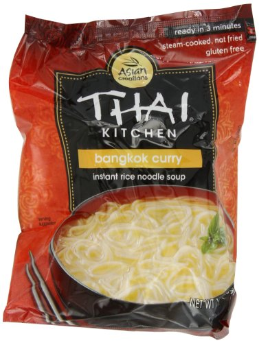 Thai Kitchen Bangkok Curry Instant Rice Noodle Soup, 1.60-Ounce Package (Pack of 12)