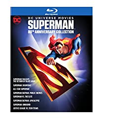 DC Universe Movies Superman 80th Anniversary Collection [Blu-ray]