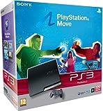 echange, troc Console PS3 320 Go noire + Playstation Move