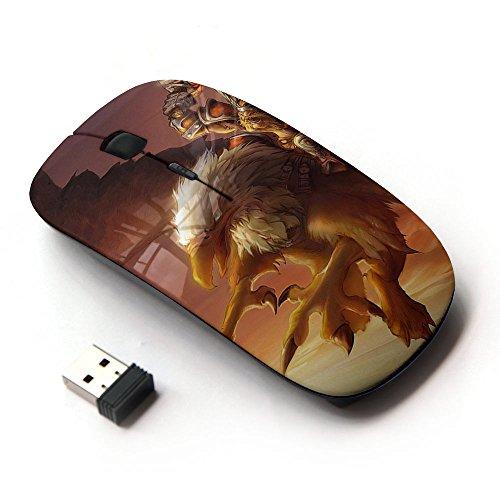 art-gear-mouse-senza-fili-ottico-24g-eagle-pc-game-mystery-gamer-giant-bird