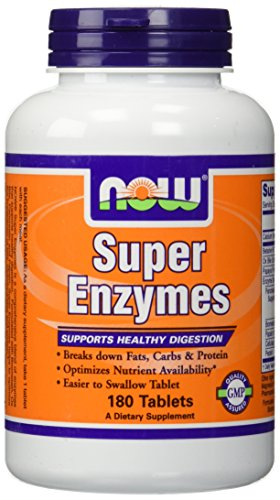Super Enzymes by Now Foods 180 Tablets