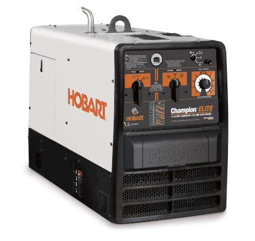 Hobart 500544 Champion Elite 11,000 Watt Generator/225 Amp AC, 210 Amp DC Stick Welder With 23 HP Kohler 4-Cycle Engine