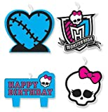 Monster High - Mini Molded Candles Party Accessory