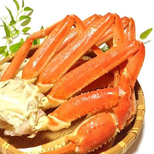 ズワイガニ足 天然 ボイル本ずわい蟹脚 特大 3Lサイズ 2kg入 6-8肩前後 良品選別済 -