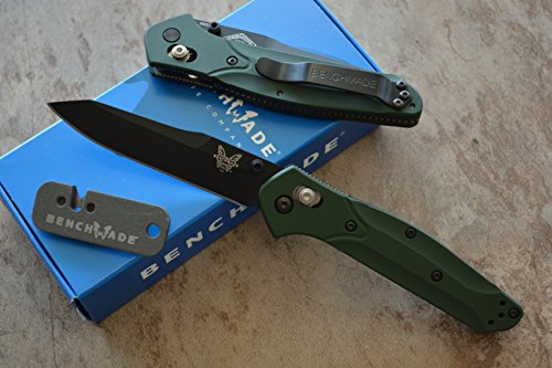 Benchmade 940BK Osborne Axis Lock Knife w/ Free Benchmade Mini Sharpener