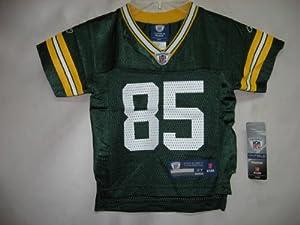 Greg Jennings Green Bay Packers Green NFL Toddler Kids Replica - Equipment Jersey