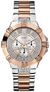 GUESS U0024L1 Silver/Rose Gold