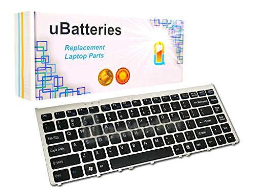 Click to buy UBatteries Laptop Keyboard Sony VAIO VGN-FW490 - Black (With Silver Frame) - From only $31.95