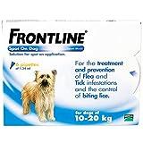 Frontline Spot On Dog for Medium Dogs, 10-20kg, 6 Pipettes
