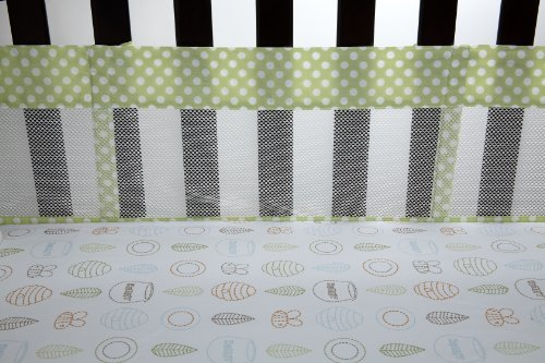 Disney Playful Pooh Secure Me Crib Liner (Discontinued by Manufacturer)