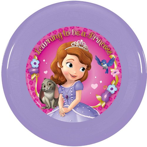 Amscan Disney Sofia the First Flying Disc, Purple/Pink, 9""