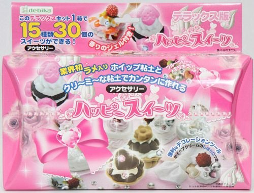 big DIY miniature cupcakes cookie clay deluxe set Japan