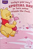 Today's your very Special Day so here comes Winnie-The-Pooh...