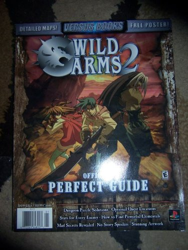 Wild Arms 2 Official Perfect Guide From J. Patrick Moran Jr., Publisher