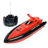 Babrit High Speed RC Boat Remote Control Electric Boat-Red