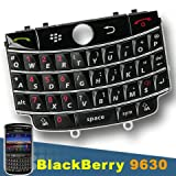 ORIGINAL GENUINE OEM BLACKBERRY TOUR 9630 QWERTY KEYBOARD BUTTONS NUMERIC KEY KEYPAD COVER REPAIR REPLACEMENT