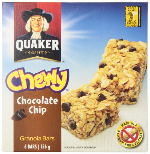 Quaker Chewy Chocolate Chip (Pack of 12)