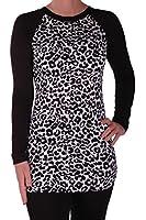 Eyecatch - Haven Womens Longsleeve Animal Print Ladies Fashion Top
