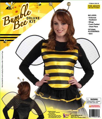 Forum Women's Bumble Bee Complete Costume Kit