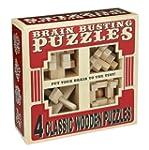 Professor Puzzle Brain Busting 4 Wood...