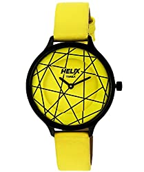 Helix Constellation Analog Yellow Dial Womens Watch - 08HL02