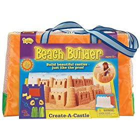 iPlay Beach Builder Create-A-Castle