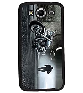 PRINTSWAG BIKER Designer Back Cover Case for SAMSUNG GALAXY MEGA 5.8