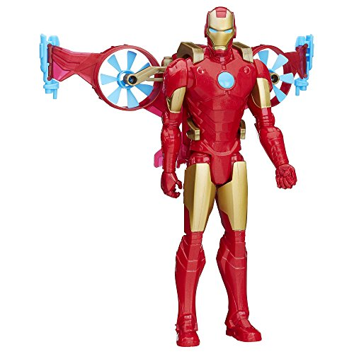 Marvel Titan Hero Series Iron Man With Hover Pack (Marvel Iron Man Suits compare prices)