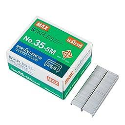 Max Desktop Staples No.35-5M, Pack 2 pcs.