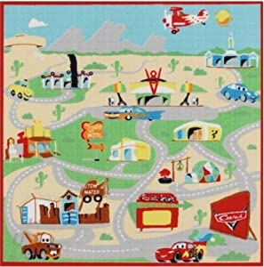 Disney Cars Pixar Interactive Game Rug