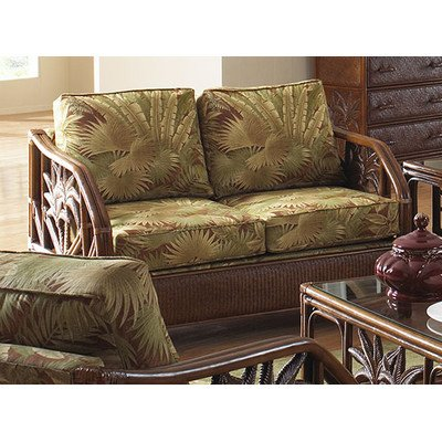 Sofa Best Best Deals Cancun Palm Loveseat With Cushions Indoor Fabric Banana Bay Chili