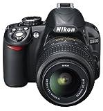 Nikon D3100 SLR-Digitalkamera (14 Megapixel, Live View, Full-HD-Videofunktion) Kit inkl. AF-S DX 18-55 VR Objektiv schwarz -