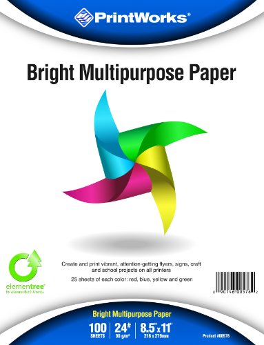 Printworks Bright Multipurpose Paper, 8.5 x 11