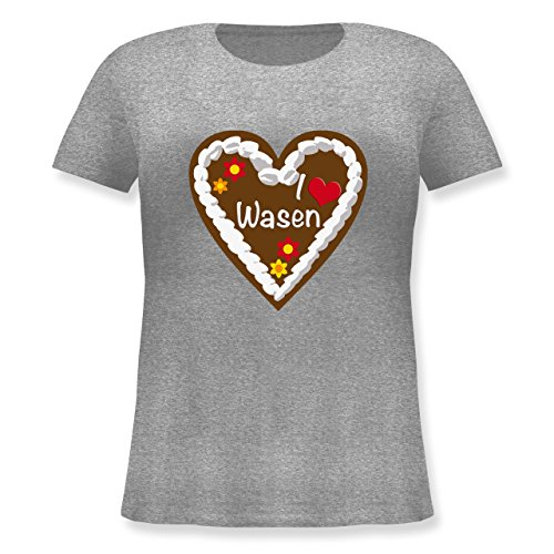 oktoberfest-damen-lebkuchenherz-i-love-wasen-stuttgart-s-44-grau-meliert-jhk601-lockeres-damen-shirt