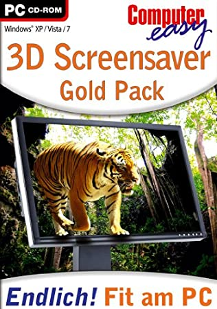 Computer easy: 3D Screensaver Gold Pack