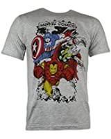Marvel Comics T-Shirt - Multi Character - Available in Size Small to XX-Large