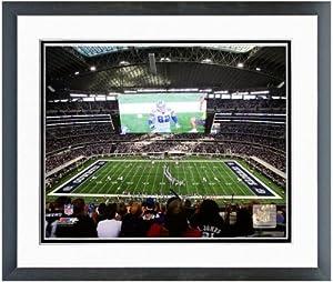 Dallas Cowboys Stadium Photo (Size: 26.5 x 30.5) Framed by NFL