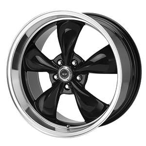 "American Racing Torq Thrust M AR105M Gloss Black Wheel with Machined Lip (17x9""/5x4.75"")"