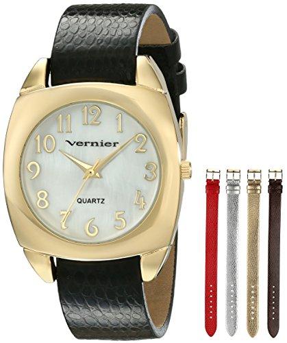 Vernier Vernier Women's VNR11120YG Analog Display Japanese Quartz Multi-Color Watch Set
