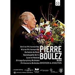 Pierre Boulez -Emotion & Analysis