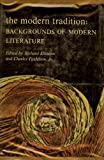 The Modern Tradition: Backgrounds of Modern Literature
