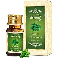 St.Botanica Basil Pure Aroma Essential Oil, 10ml
