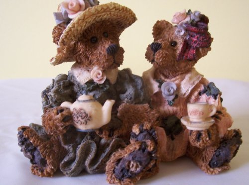 Boyds Bears Retired Resin - Emma & Bailey - Afternoon Tea from 1995 (Boyds Bears Retired Resin compare prices)