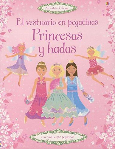 Princesas y hadas - el vestuario en pegatinas