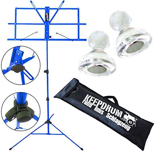 KEEPDRUM-MUS2-Notenstaender-verschiedene-Farben-10-Notenpult-Magnete-MG10