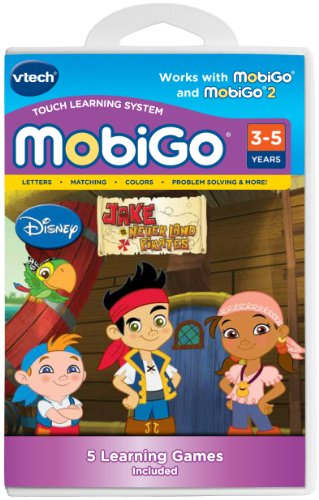 VTech MobiGo Software Cartridge - Jake and the Never Land Pirates