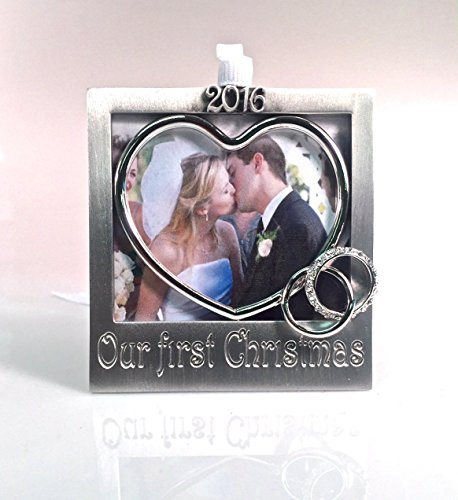2016 Our First ChristmasTree Photo Ornament 3