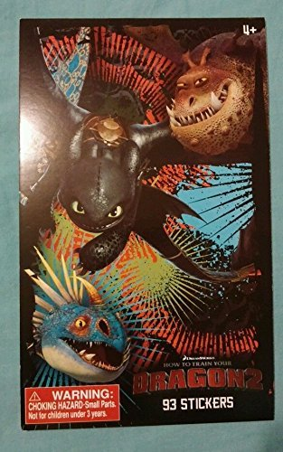 How To Train Your Dragon 2 Stickers - 93 Count - 3 Sheets - 1