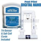 Pool Pilot Digital Nano 220V Pool Salt Chlorine Generator for 22,000 Gallons - DN2